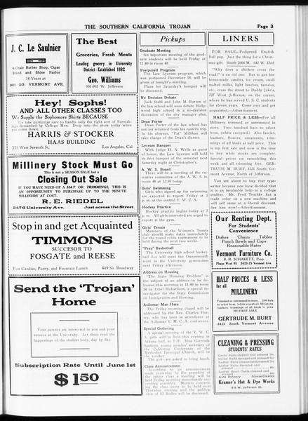 The Southern California Trojan, Vol. 8, No. 49, January 04, 1917