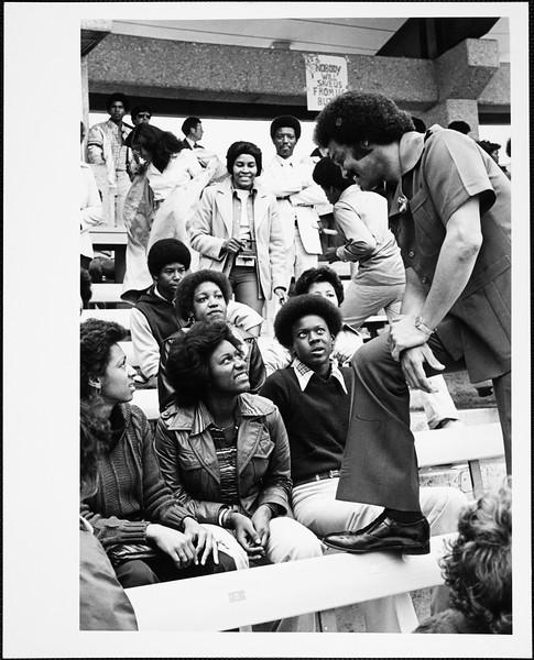 Reverend Jesse Jackson at USC, 1978