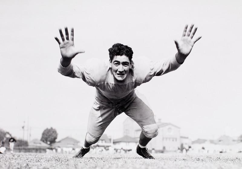 John Ferraro, USC tackle,  1942