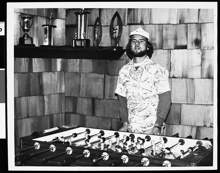 USC table soccer player, [s.d.]