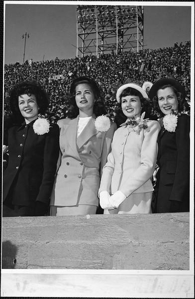 Homecoming Queen Charlene Hardey, 1948