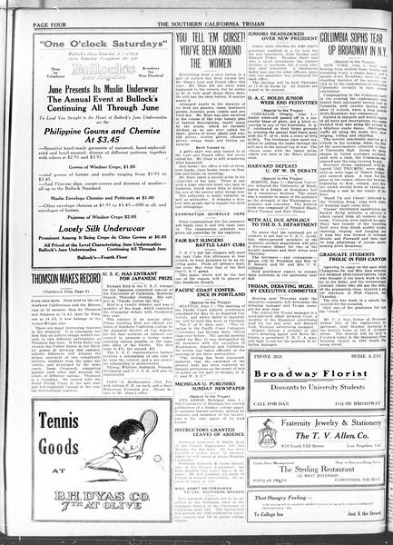 The Southern California Trojan, Vol. 11, No. 100, June 02, 1920