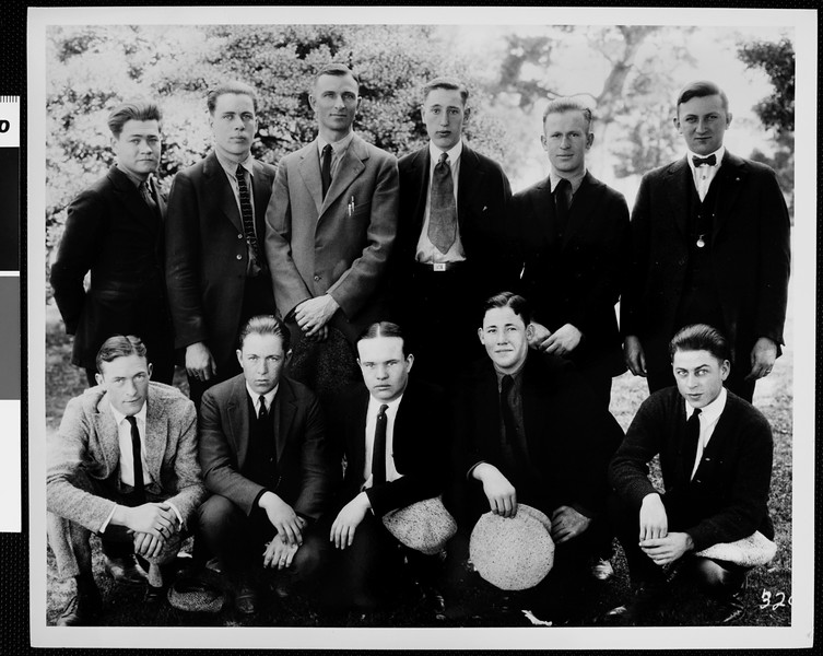 USC Kappa Psi fraternity, 1922