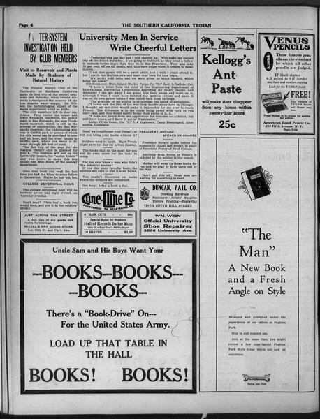 The Southern California Trojan, Vol. 9, No. 35, March 19, 1918
