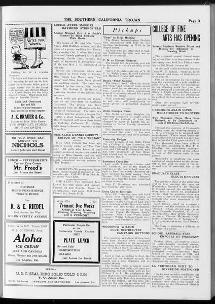 The Southern California Trojan, Vol. 8, No. 13, October 10, 1916