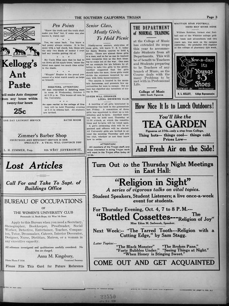 The Southern California Trojan, Vol. 9, No. 2, October 02, 1917