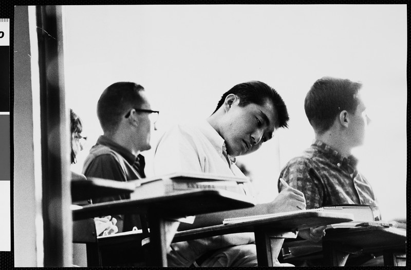 In the classroom, [s.d.]