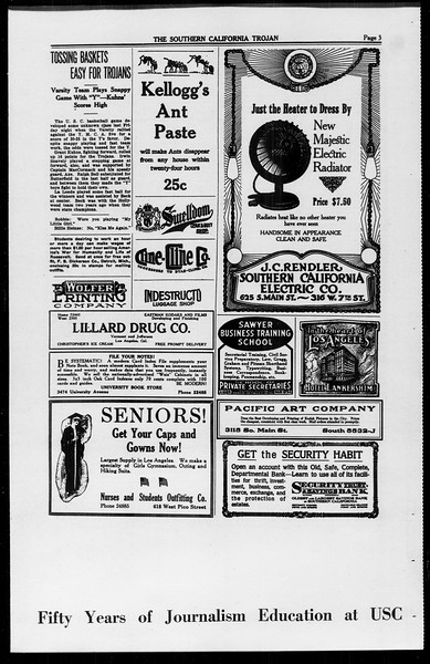 The Southern California Trojan, Vol. 10, No. 10, March 25, 1919