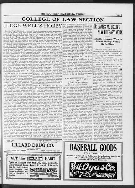 The Southern California Trojan, Vol. 10, No. 28, June 06, 1919
