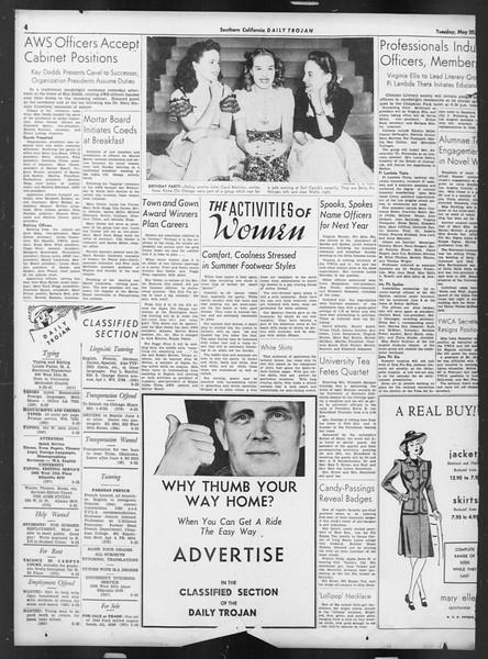 Daily Trojan, Vol. 32, No. 145, May 20, 1941