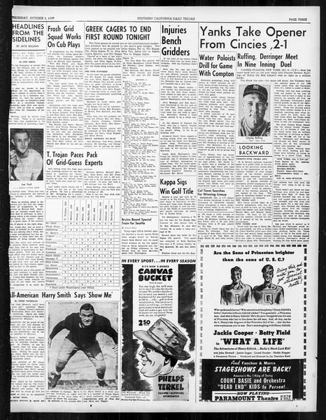 Daily Trojan, Vol. 31, No. 15, October 05, 1939
