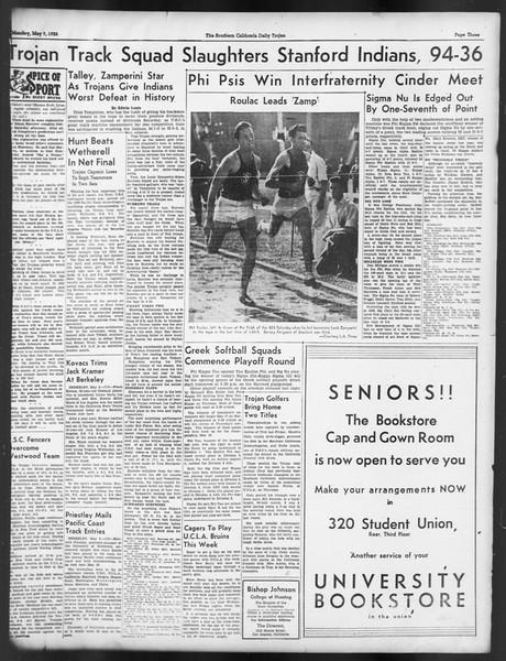 Daily Trojan, Vol. 29, No. 132, May 09, 1938