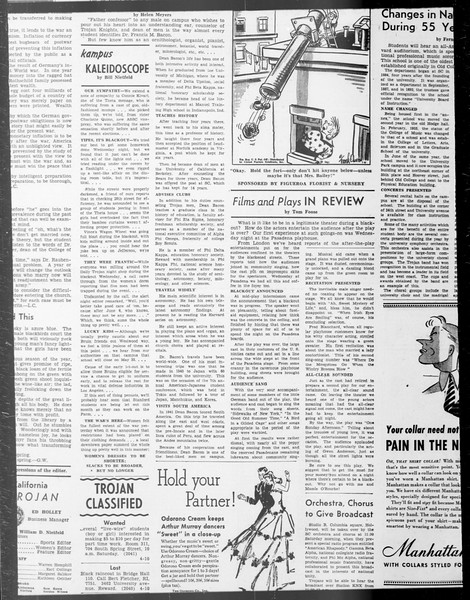 Daily Trojan, Vol. 33, No. 104, February 03, 1942