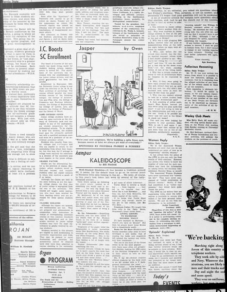 Daily Trojan, Vol. 33, No. 100, January 29, 1942