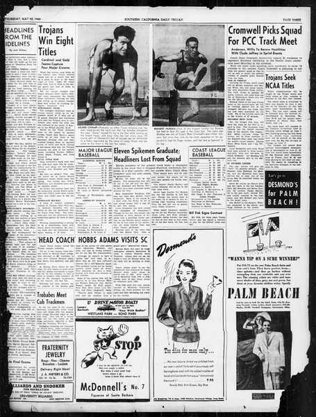Daily Trojan, Vol. 31, No. 151, May 23, 1940
