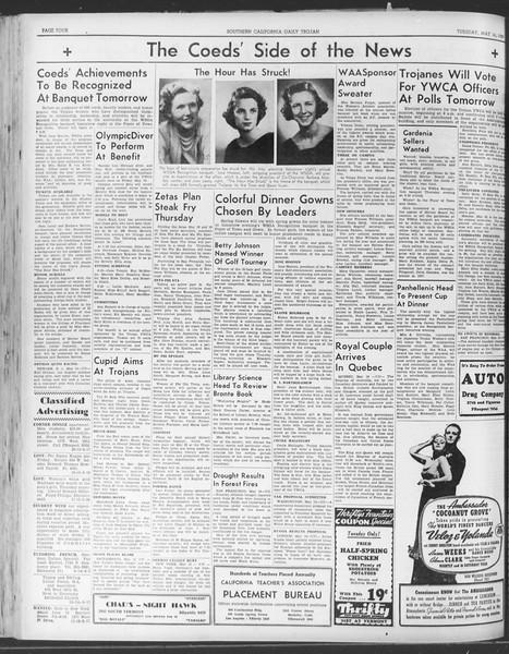 Daily Trojan, Vol. 30, No. 137, May 16, 1939