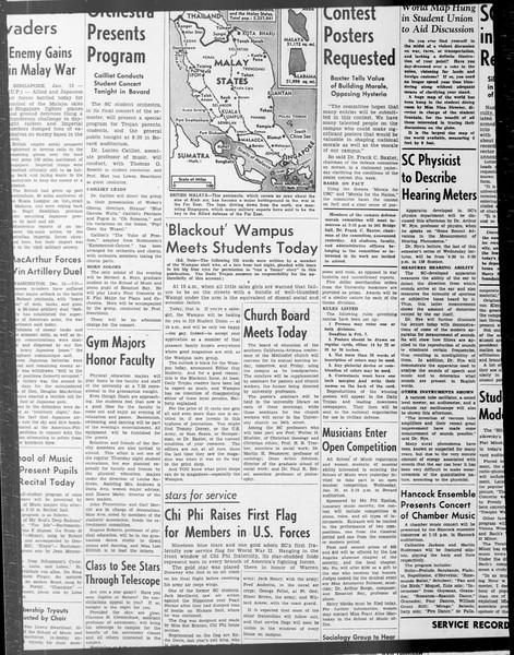 Daily Trojan, Vol. 33, No. 65, December 19, 1941