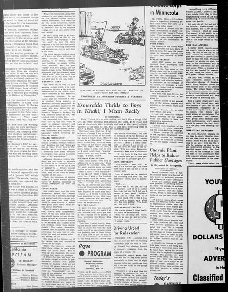 Daily Trojan, Vol. 33, No. 80, January 06, 1942