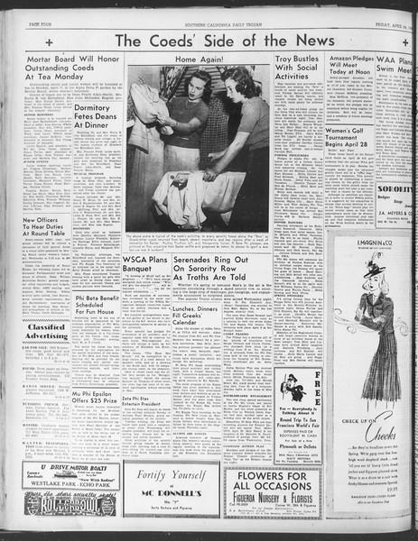Daily Trojan, Vol. 30, No. 115, April 14, 1939