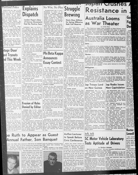 Daily Trojan, Vol. 33, No. 87, January 14, 1942