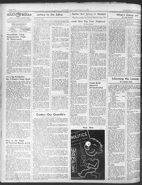 Daily Trojan, Vol. 30, No. 98, March 15, 1939