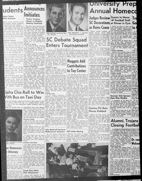 Daily Trojan, Vol. 33, No. 45, November 07, 1941