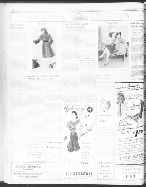 Summer Trojan, Vol. 17, No. 9, July 22, 1938