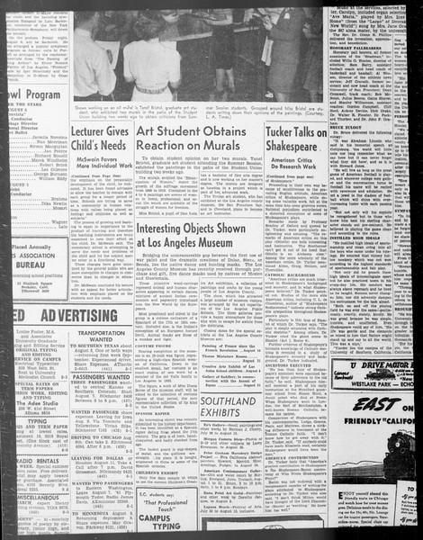 Daily Trojan, Vol. 33, No. 11, June 20, 1941