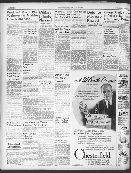 Daily Trojan, Vol. 30, No. 104, March 23, 1939