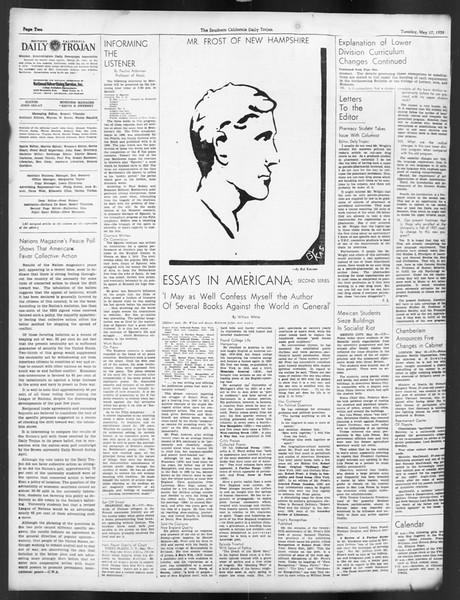 Daily Trojan, Vol. 29, No. 138, May 17, 1938