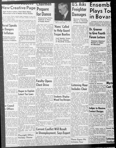 Daily Trojan, Vol. 33, No. 33, October 24, 1941