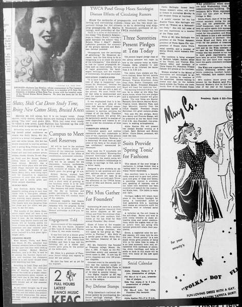 Daily Trojan, Vol. 33, No. 86, January 13, 1942
