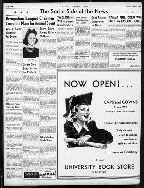 Daily Trojan, Vol. 31, No. 139, May 07, 1940