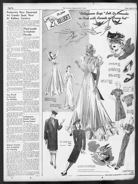 Daily Trojan, Vol. 29, No. 116, April 08, 1938