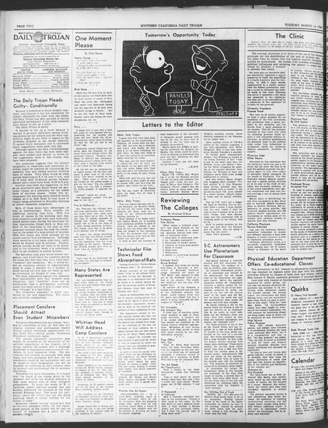 Daily Trojan, Vol. 30, No. 97, March 14, 1939