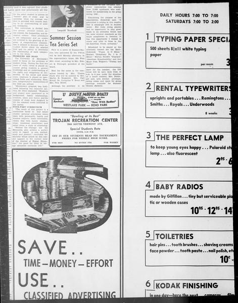 Daily Trojan, Vol. 33, No. 3, June 11, 1941