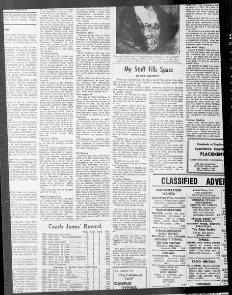Daily Trojan, Vol. 33, No. 10, June 19, 1941