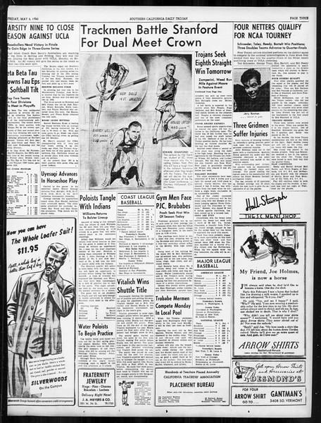 Daily Trojan, Vol. 31, No. 137, May 03, 1940