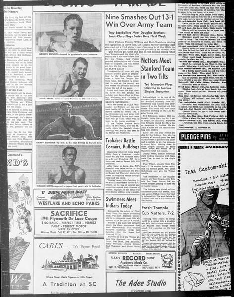 Daily Trojan, Vol. 33, No. 104, February 03, 1942
