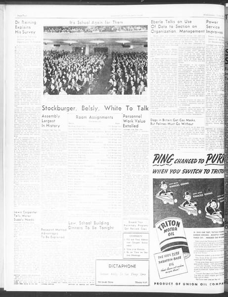 Southern California Daily Trojan: U.S.C. Institute of Government, Vol. 5, No. 2, June 15, 1938