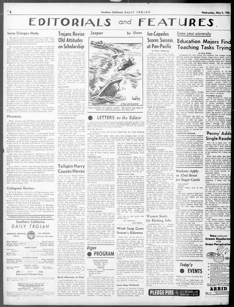 Daily Trojan, Vol. 33, No. 136, May 06, 1942