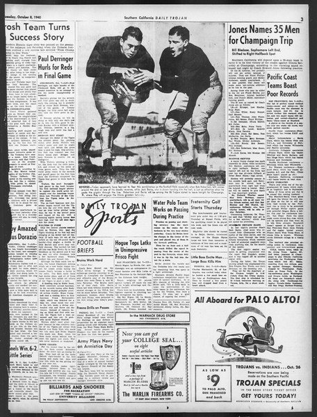 Daily Trojan, Vol. 32, No. 18, October 08, 1940