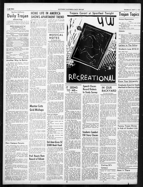 Daily Trojan, Vol. 31, No. 136, May 02, 1940