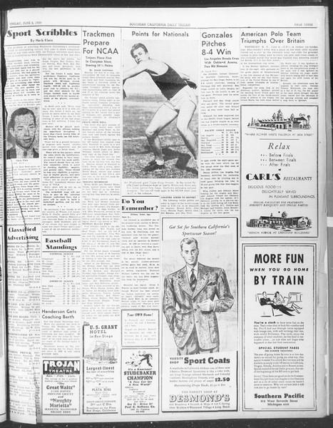Daily Trojan, Vol. 30, No. 150, June 05, 1939
