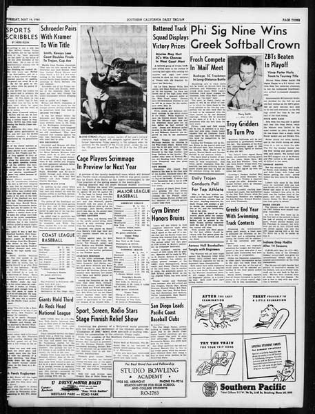 Daily Trojan, Vol. 31, No. 144, May 14, 1940