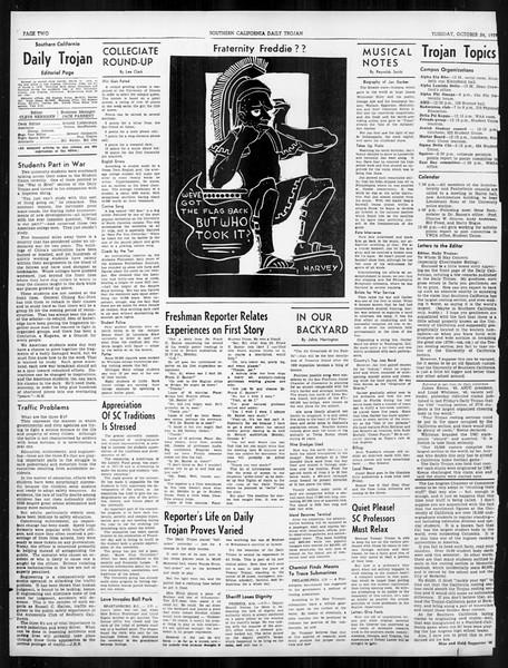 Daily Trojan, Vol. 31, No. 28, October 24, 1939