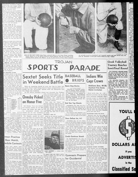 Daily Trojan, Vol. 33, No. 92, January 20, 1942