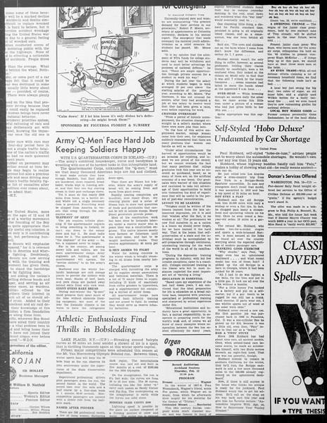 Daily Trojan, Vol. 33, No. 71, December 26, 1941