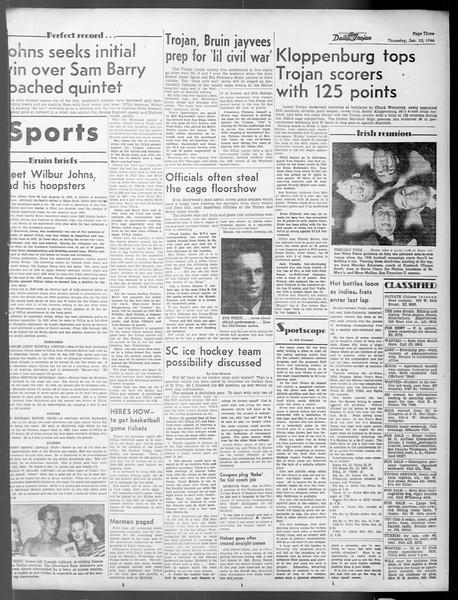 Daily Trojan, Vol. 37, No. 46, January 10, 1946