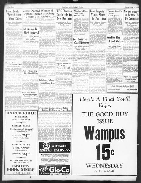 Daily Trojan, Vol. 24, No. 148, May 22, 1933
